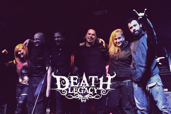 DEATH AND LEGACY MDRID 2015 WE ROCK