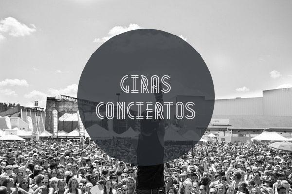 Giras y conciertos