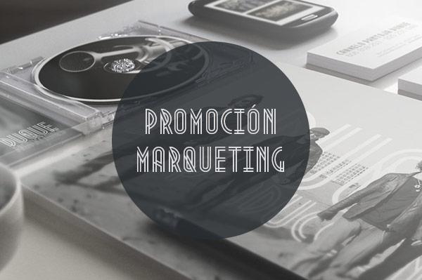 Promoción y Marqueting