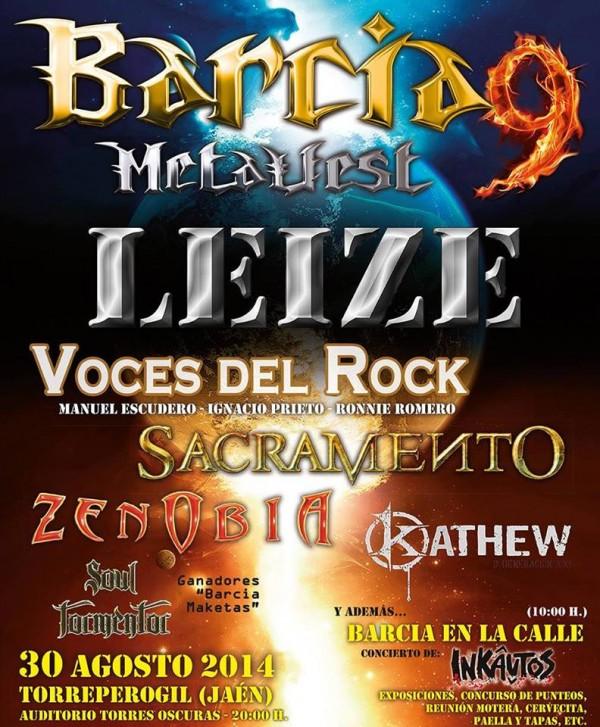 barcia metal fest 2014