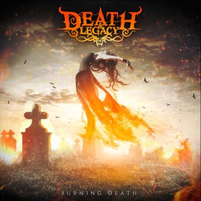 PORTADA BURNING DEATH-DEATH & LEGACY