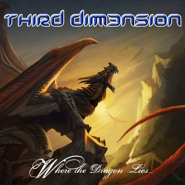 PORTADA WHERE THE DRAGON LIES - THIRD DIM3NSION