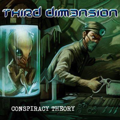 PORTADA CONSPIRACY THEORY - THIRD DIM3NSION (Medium)