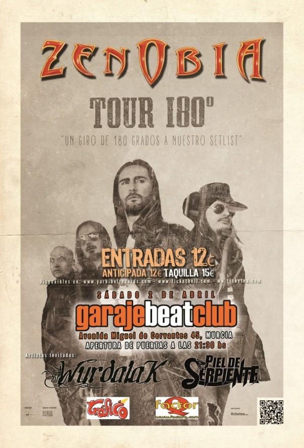 Zenobia Tour 180º
