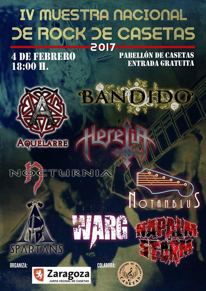 Muestra de rock de casetas zaragoza - Tiempo en casetas zaragoza ...