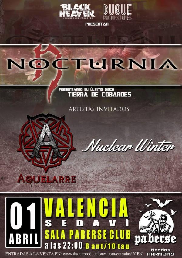 Nocturnia --VALENCIA (Medium)